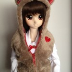 Fuwa kuma set red winter 2011