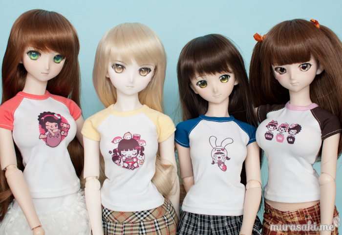 Murasaki.me x Charuca T-shirts